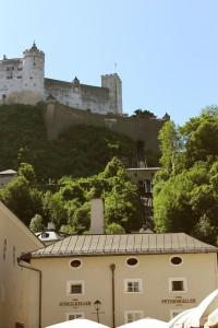 Schrägaufzug zur Festung Hohensalzburg