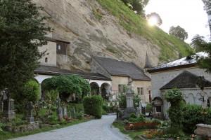 Petersfriedhof mit den Salzburger Katakomben